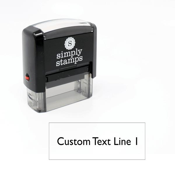 1 Line Self-Inking Stamp