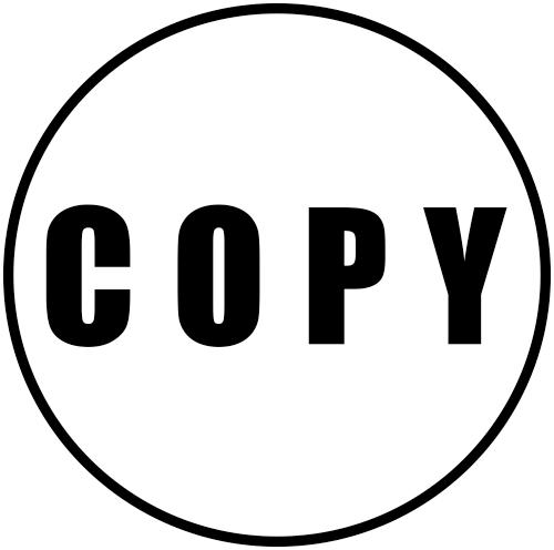 COPY Round Border Stock Stamp