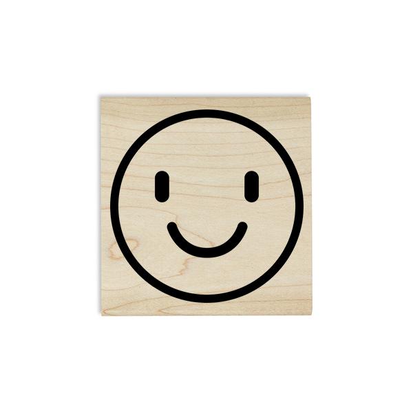 Smiley Emoji Teacher Craft Stamp Body and Design