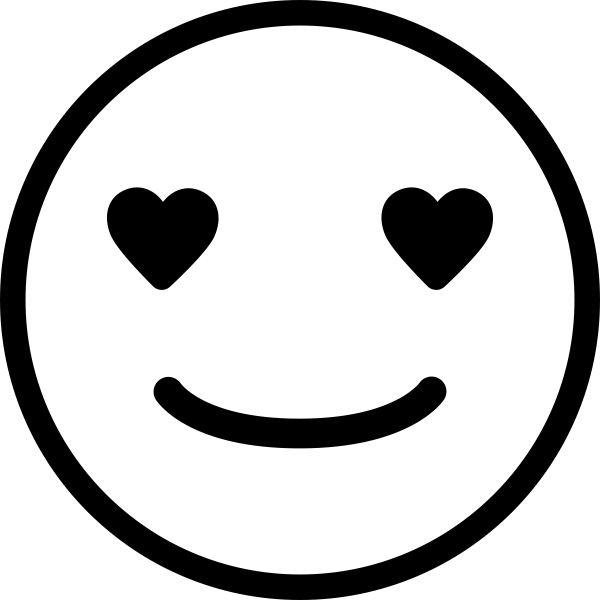 Love Emoji Teacher Craft Stamp