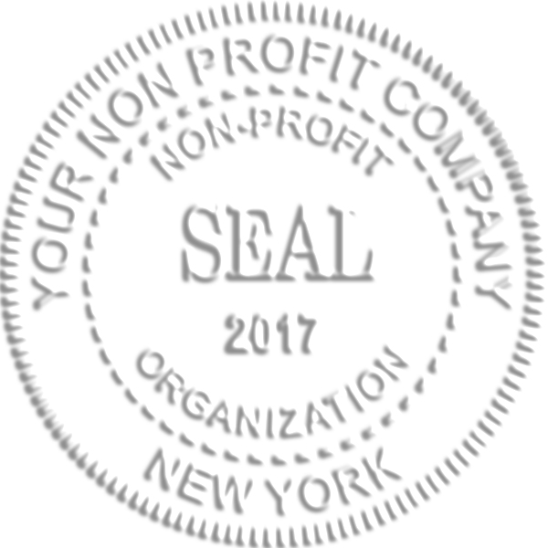 Non-Profit Organization with Date Seal Embosser