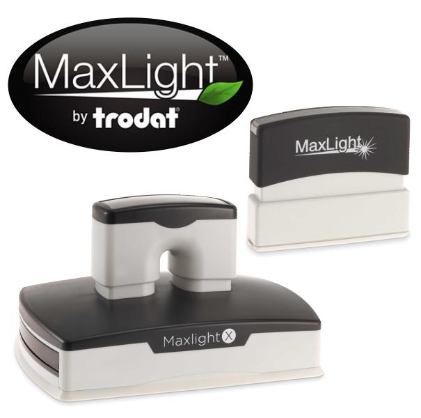 Maxlight Pre-Inked Round Stamps