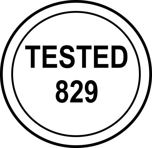 Custom Tested Inspection Stamp