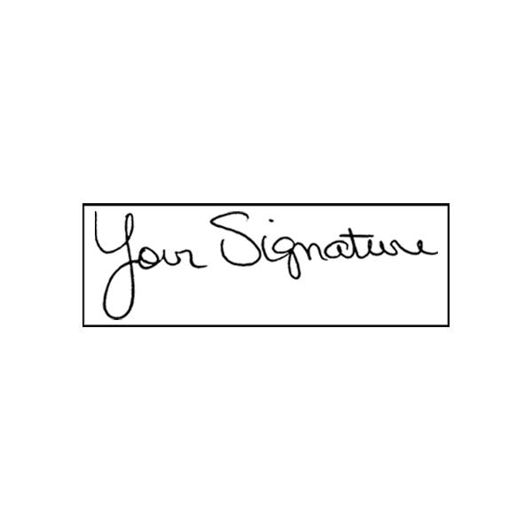 Medium Signature Stamp