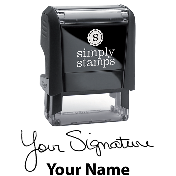 Small Signature Stamp Bottom Body and Design