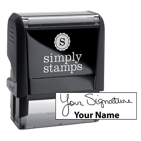 Medium Signature Stamp Bottom