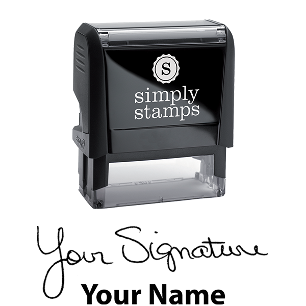 Large Signature Stamp Bottom Body and Design