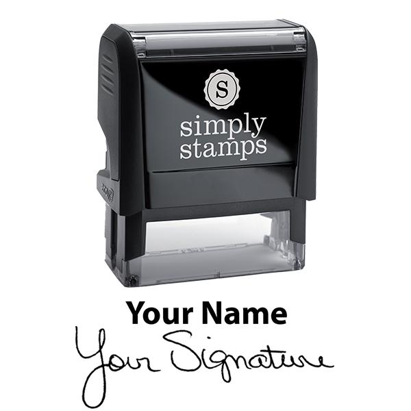 Medium Signature Stamp Top Body and Design
