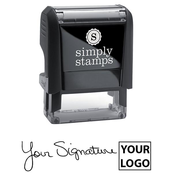 Small Right Logo Signature Stamp Body and Design