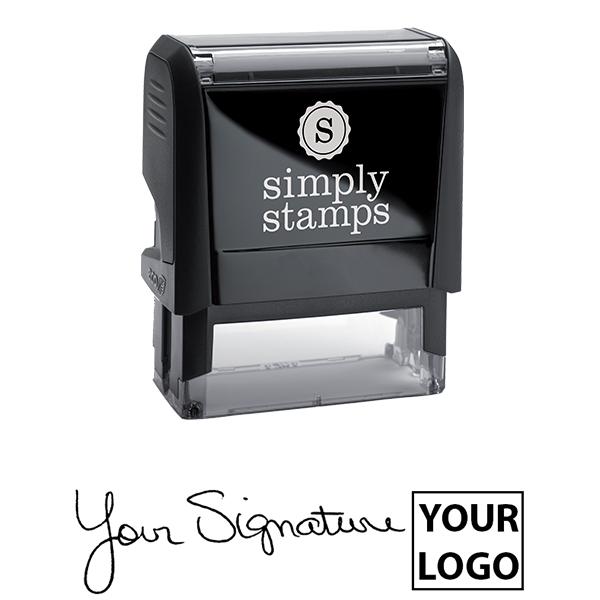Medium Right Logo Signature Stamp Body and Design