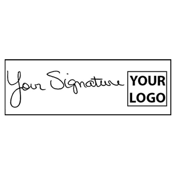 XL Right Logo Signature Stamp