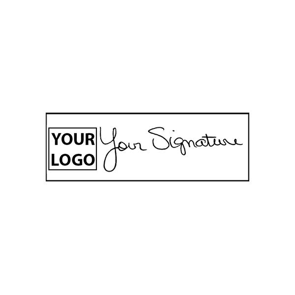 Medium Signature Logo Stamp