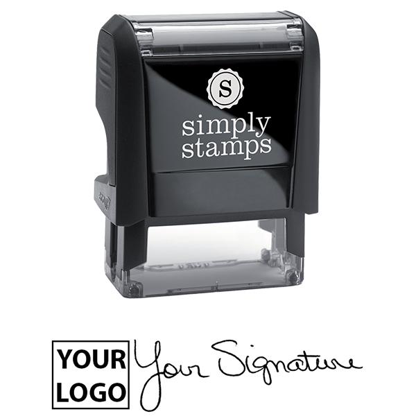 Small Signature Logo Stamp Body and Design