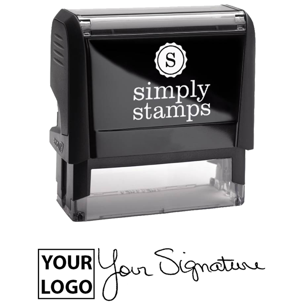 Extra Large Signature Logo Stamp Body and Design