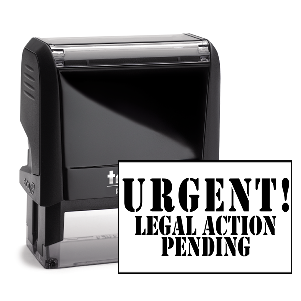 Legal Action Stamp