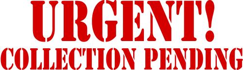 Urgent Collection Stamp