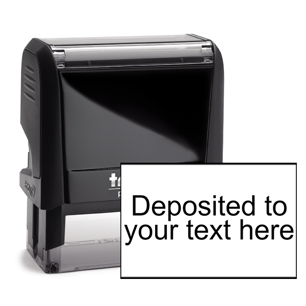Deposited Account Stamp