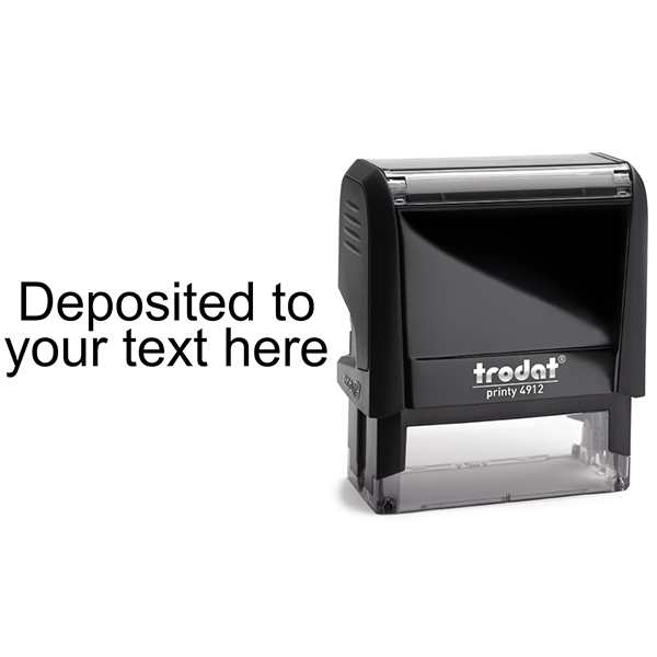 Deposited Account Stamp Body and Design