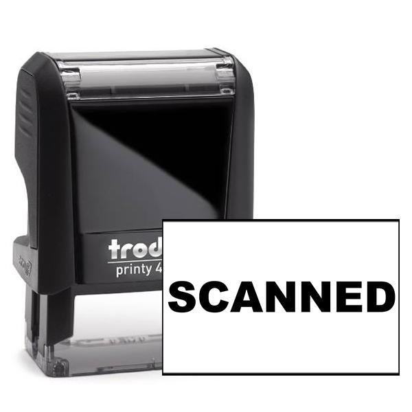 Scanned Banker Stamp