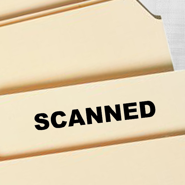 Scanned Banker Stamp Imprint Example