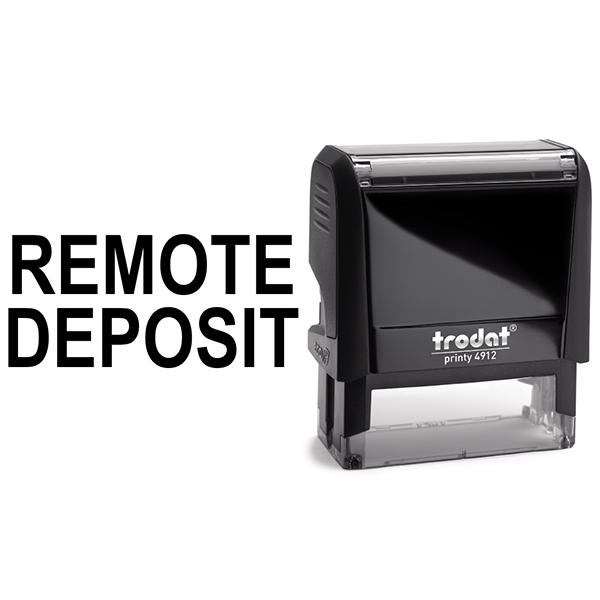 Remote Deposit Stamp Body and Design