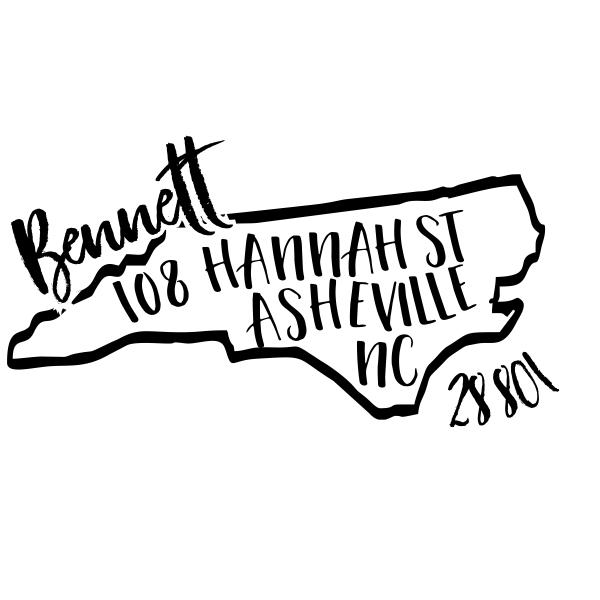 Custom North Carolina Address Stamp