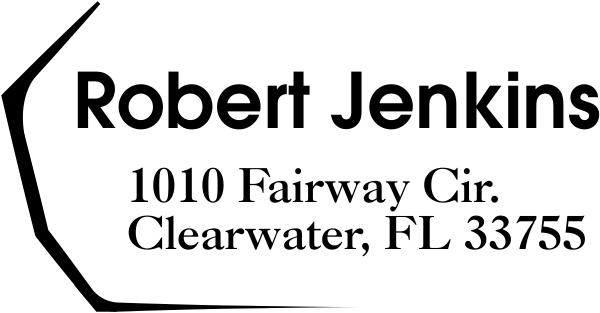 Fairway Address Stamp