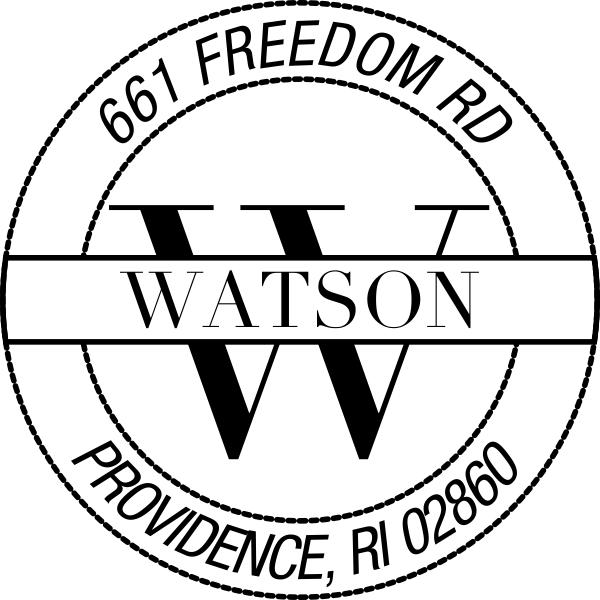 Providence Address Stamp