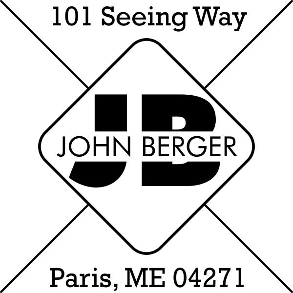 Berger Address Stamp