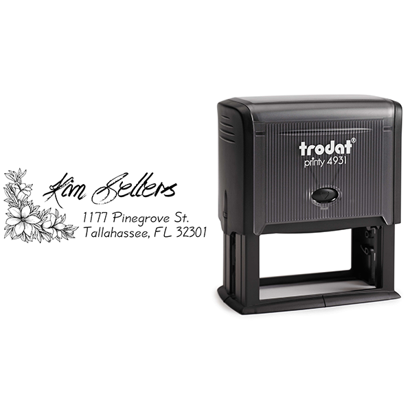 Sellers Return Address Stamp Body and Design