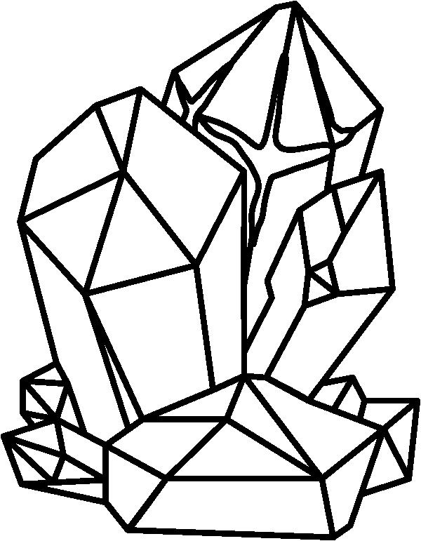Geode Cluster Stamp