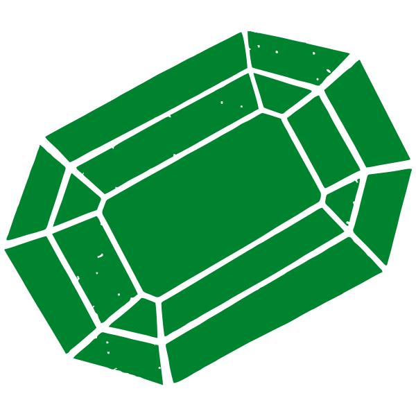 Emerald Jewel Stamp