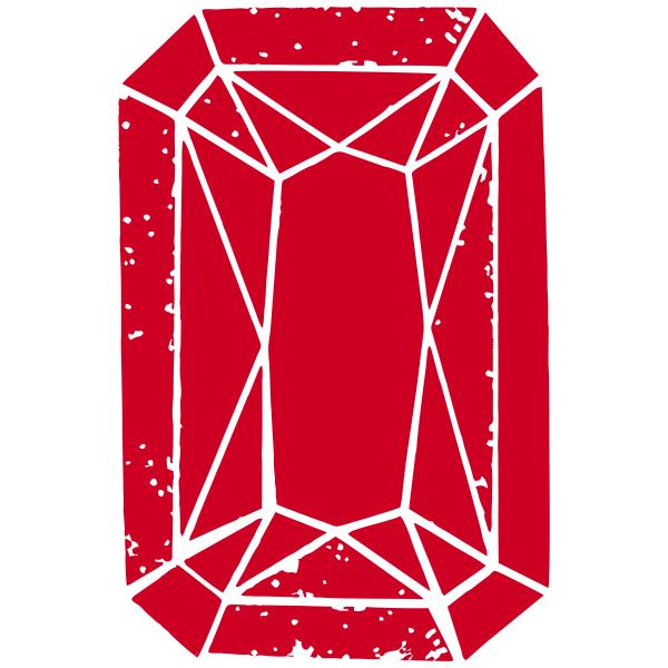 Ruby Jewel Stamp