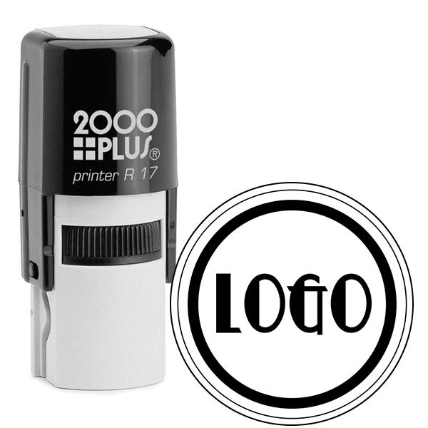 Mini Round Logo Stamp