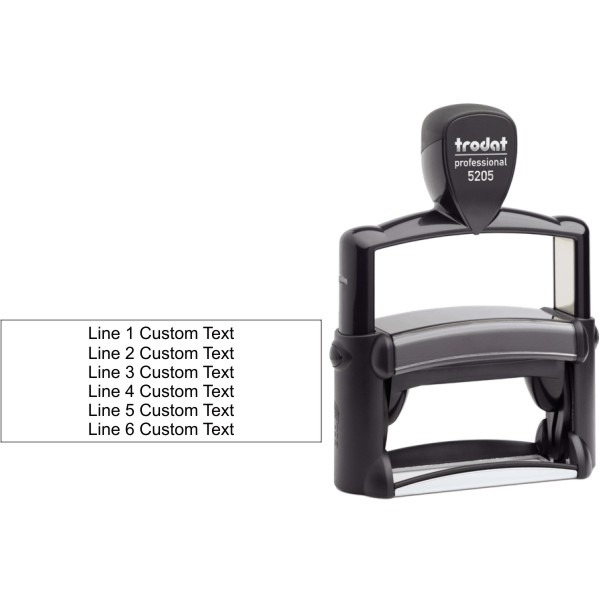Trodat Professional 5205 Custom Text Stamp