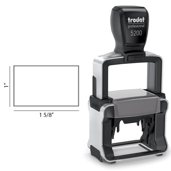 Trodat Professional 5200 impression area