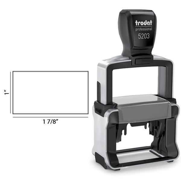 Trodat Professional  5203 impression area