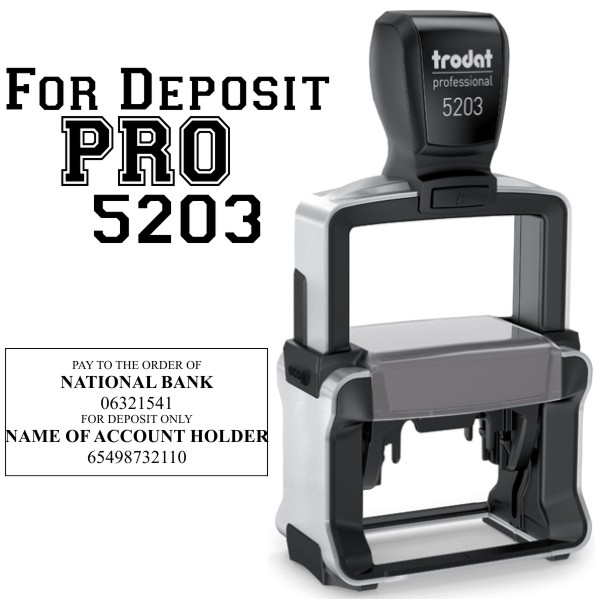 For Deposit Trodat Professional 5203