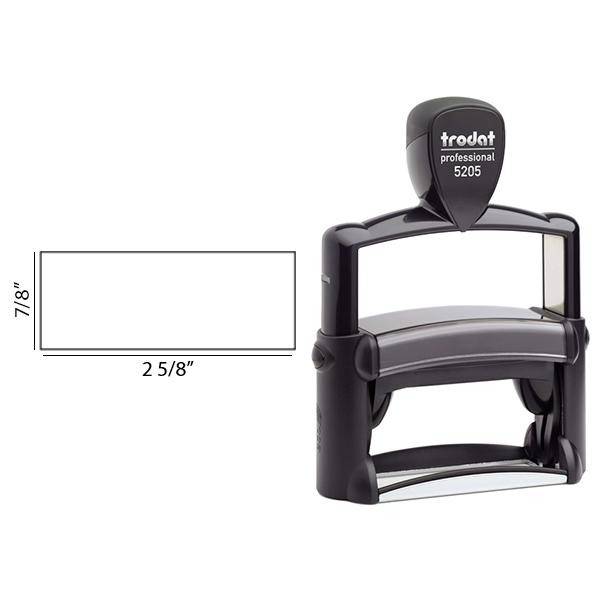 Trodat Professional 5205 rectangular impression area