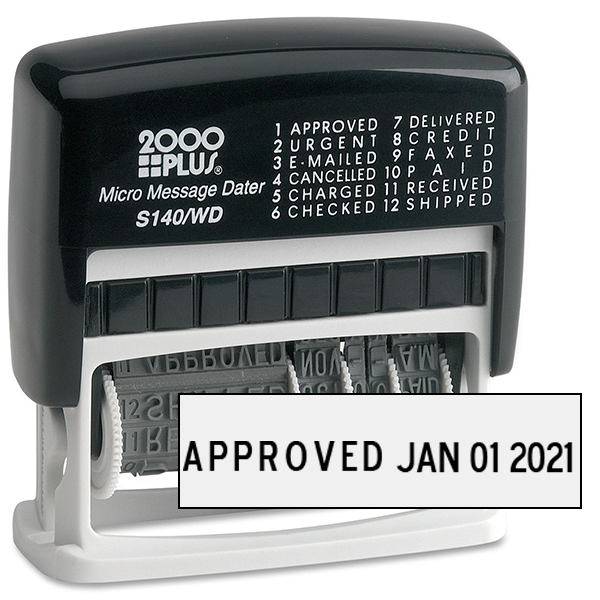 Cosco Micro Message Dater - 12 Phrase Messages