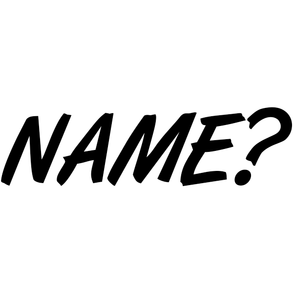 Name? Self-Inking Teacher Stamp