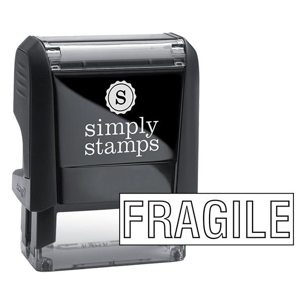 Fragile Stock Stamp