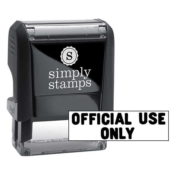 Official Use Only Stock Stamp