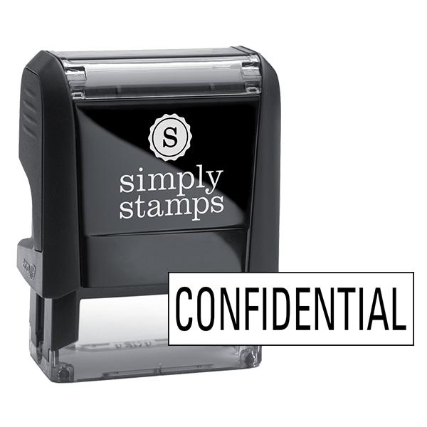 Confidential Stock Stamp