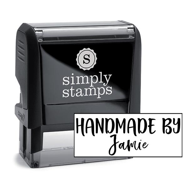 Custom Handmade By Signature Stamp