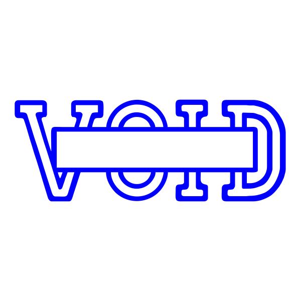 VOID Stock Stamp