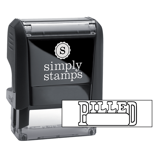Billed Stock Stamp