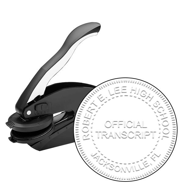 Official Transcript Embosser Seal