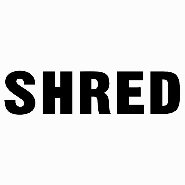 Shred Stock Stamp
