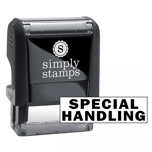 Special Handling Stock Stamp